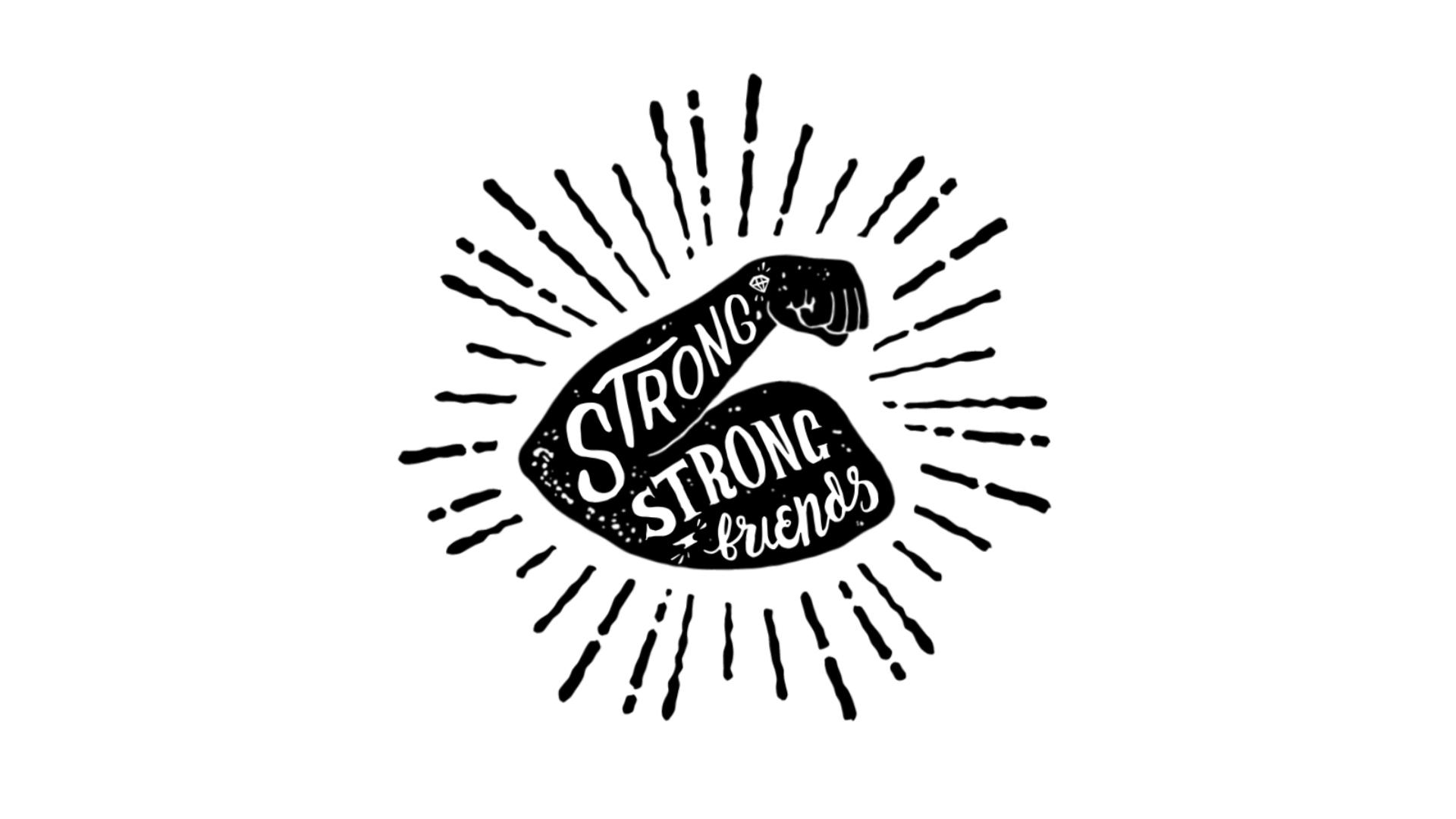 Strong Strong Friends Logo – Dan the Graphics Man